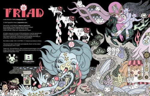 Junko Mizuno's TRIAD Pop Up Book: Special Edition