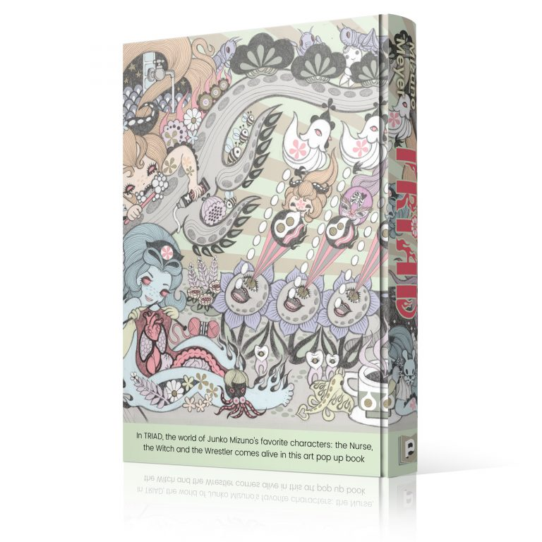 Junko Mizuno's TRIAD Pop Up Book: Standard Edition