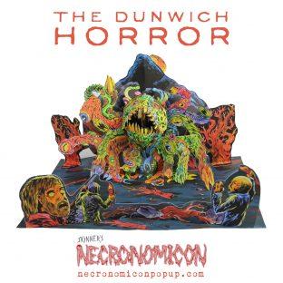 Necronomicon Pop Up Book Arkham Oak Tome Edition