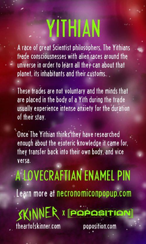 Yithian Enamel Pin