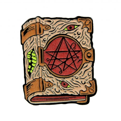 Necronomicon Enamel Pin