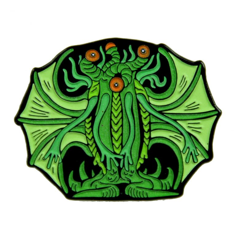 Elder Thing Enamel Pin