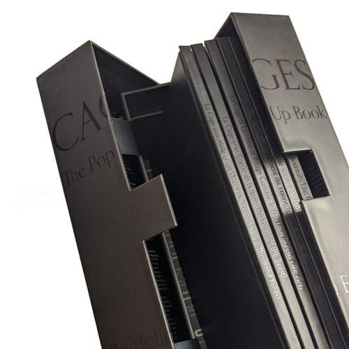 Cages: The Pop Up Book - Portfolio Edition lift box (prototype)
