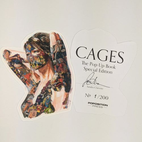Special Edition bookplate signed & numbered by Sandra Chevrier